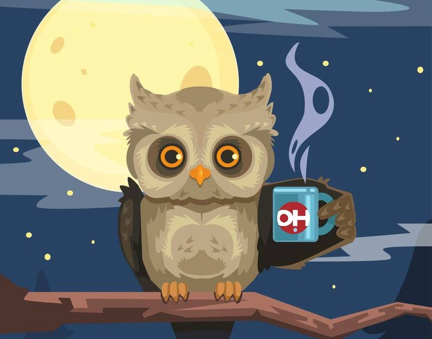 Night Owls Unite and GIVE!